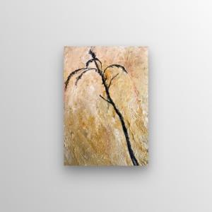 schilderij getiteld riet