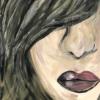 schilderij lippen geheel